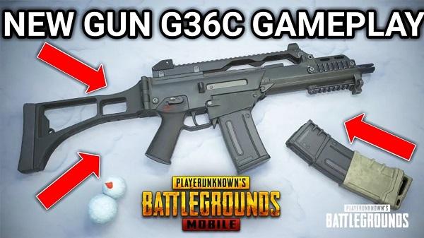 New Gun G36C Gameplay