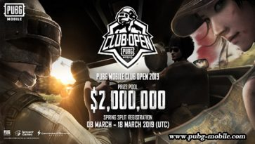 PUBG Mobile Club Open 2019 Kicked Off With $2,000,000 Prize Pool