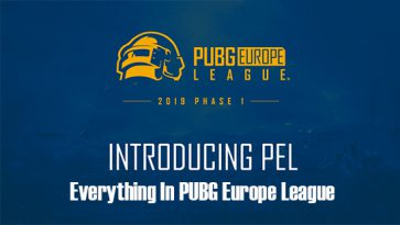 Everything In PUBG Europe League