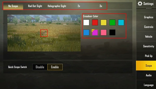 More options for your customizations in PUBG Mobile