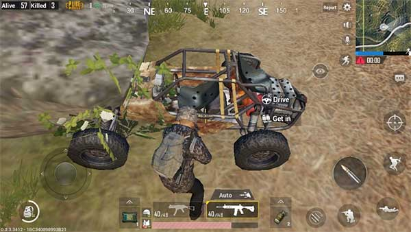 Buggy and the use of it in PUBG Mobile