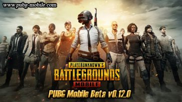 PUBG Mobile Beta v0.12.0