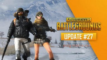 PUBG Update #27 On All Live Servers