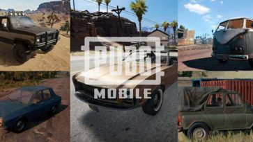 Top 5 Popular Vehicles In PUBG Mobile