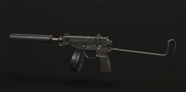 Skorpion new gun in PUBG Mobile game