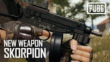 PUBG Mobile 0.12.5 Releases A New Weapon - Skorpion