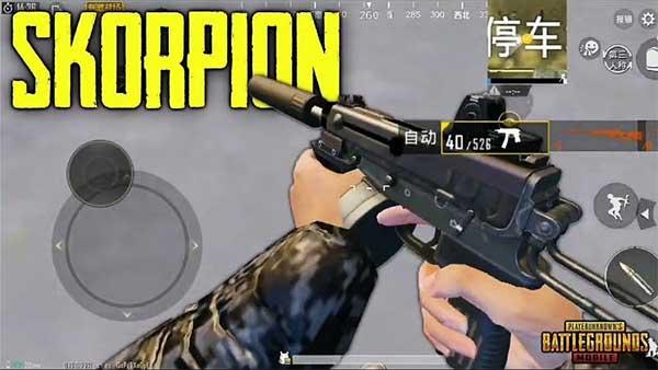 Skorpion - A Portable Machine Pistol in Royale Pass Season 7