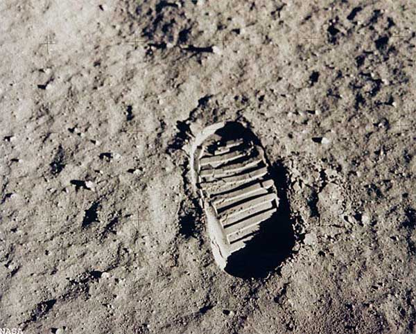 Footprints Of Players On The Moon in PUBG