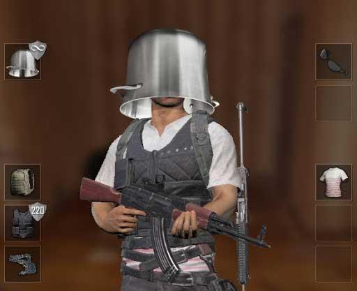 Level-4 Helmet in PUBG Game