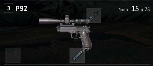 Arm Your Pistols 15x Scope in PUBG Game
