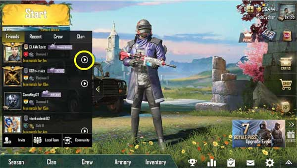 Pick Out The Adventure Set in PUBG Mobile