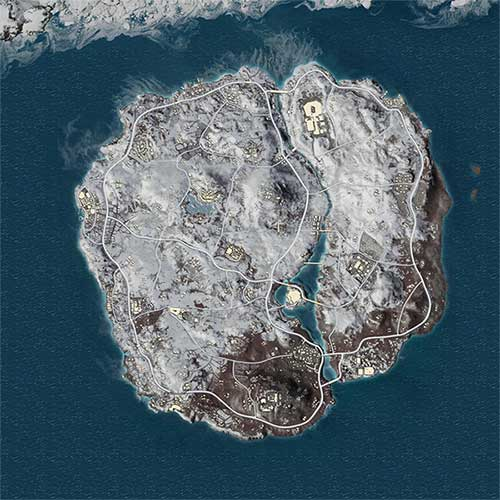 The Whole Vikendi Map Is Covered By Snow In PUBG Mobile