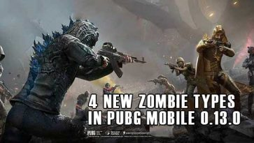 4 New Zombie Types in PUBG Mobile 0.13.0