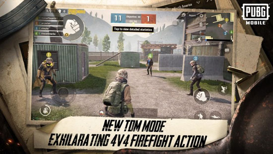 Explore PUBG Mobile 0.13.0 With TDM Mode With Friends From Now On!