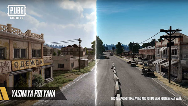Get Ready To Occupy The Abandoned Town In PUBG Mobile Erangel 2.0 Map!