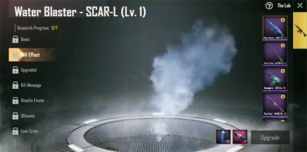 Kill Effect of SCAR-L in Season 8