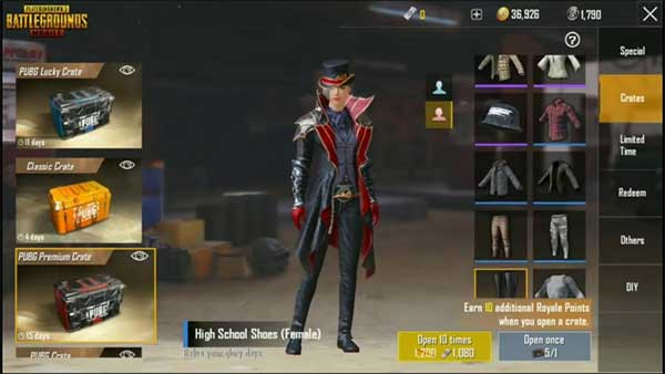 Enrich Your Collection With PUBG Mobile Skins!