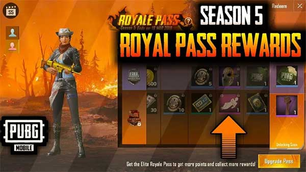 Play PUBG Mobile Download Royal Pass To Search For More Skins!