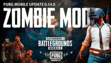 PUBG Mobile 0.14: New Zombie Mode