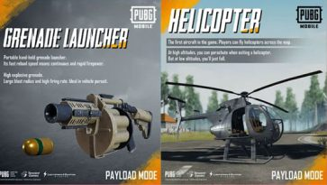 PUBG Mobile: Added New Helicopters and RPGs