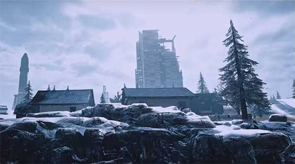 The Vikendi Map With Snow In PUBG Mobile