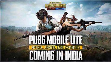 PUBG Mobile Lite India