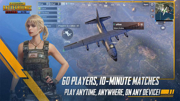 PUBG Mobile Lite now allow up to 60 players
