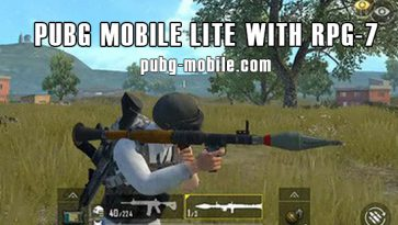 PUBG Mobile Lite With RPG-7