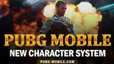 PUBG Mobile Released A New Character System!