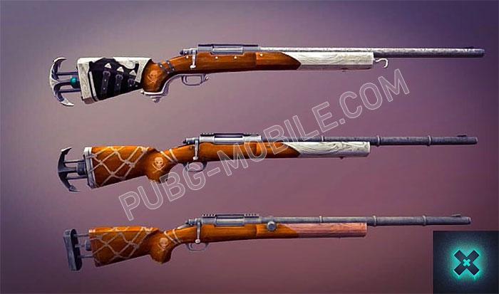 New skin for M24 gun