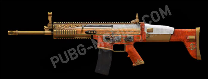 SCAR-L is equiped with new skin