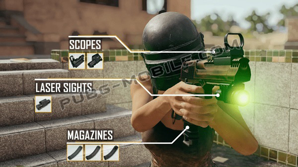 They Are Accessories Which Are Appropriate For Deagle, According To The Next PUBG Mobile Update