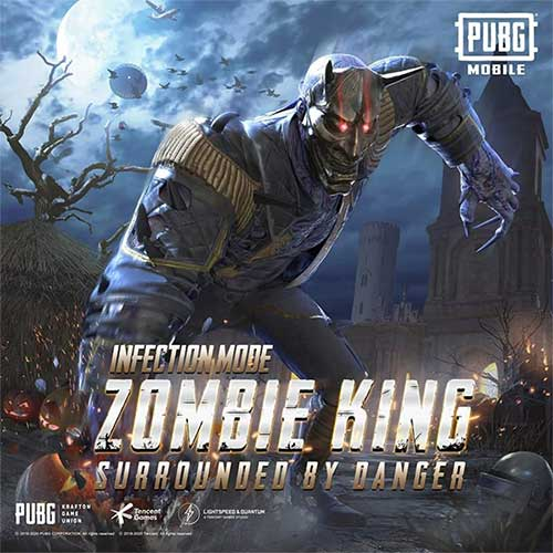 Zombie King In Infection Mode of PUBG Mobile 0.14