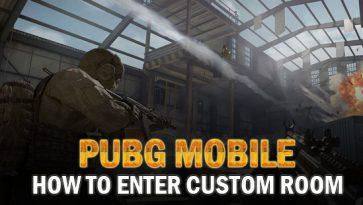 How To Enter Custom Room PUBG Mobile