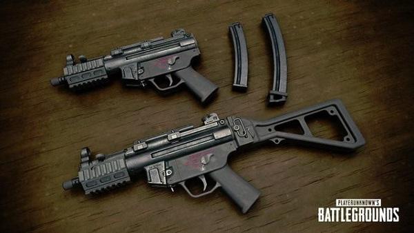 PUBG Mobile Season 9 New Gun - MP5K