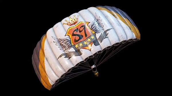 PUBG Mobile New Parachute Skin