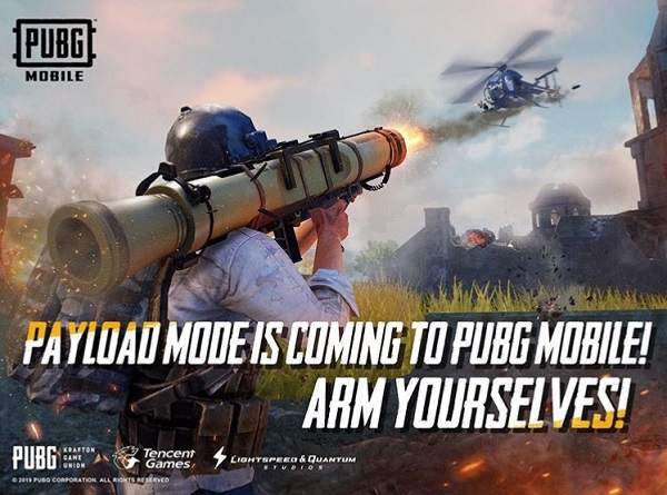 New Payload Mode, Helicopters And Weapons in PUBG Mobile 0.15.0