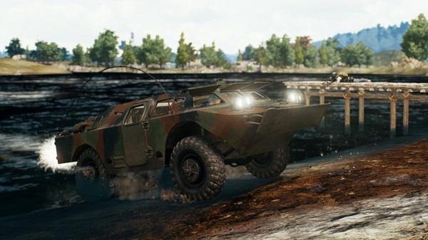 BRDM-2 Tank in PUBG Mobile 0.15.0 Update