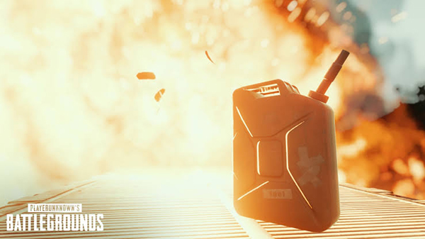 Explosive Gas Cans in PUBG Mobile 0.15.0 Update