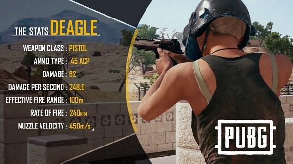 Deagle Pistol PUBG Mobile 0.15.0 Update