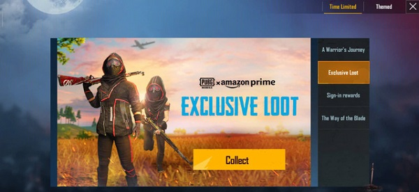 """PUBG Mobile """"Exclusive Loot"""" Event Now Appears In The Time Limited Event"""