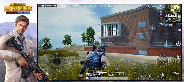 Armaments in PUBG Mobile Lite and the first deathmatch