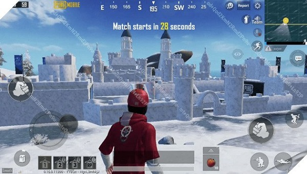 The New Team Deathmatch Map With The Frozen Castle In PUBG Mobile 2020