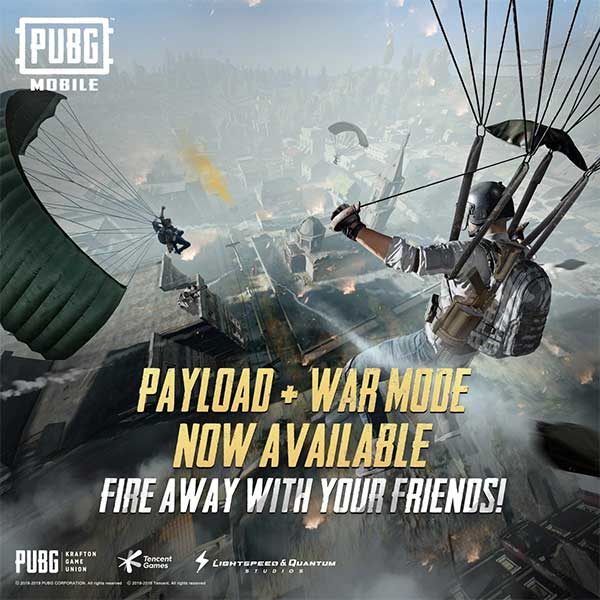 Payload Mode x War Mode is available!