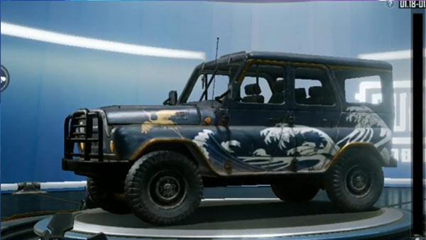 PUBG Mobile Season 12 Leaked Vehicle