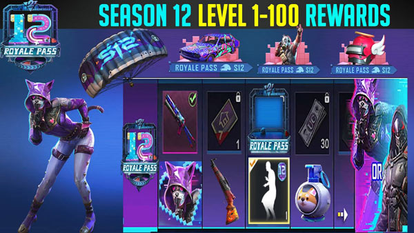 PUBG Mobile Season 12 - Royale Pass