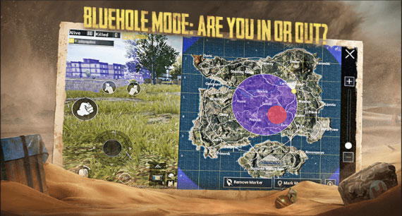 PUBG Mobile Patch Notes 0.18.0 EvoGround New Mode: Bluehole Mode