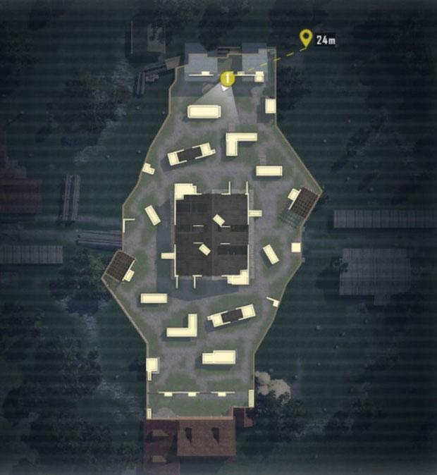 PUBG Mobile TDM Warehouse map