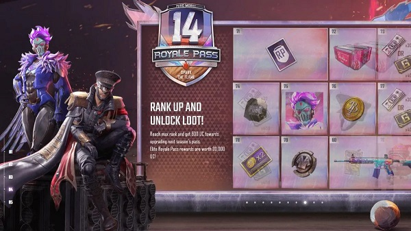 Things currently included in PUBG Mobile Season 13