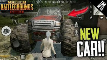 New Vehicle Released In PUBG Mobile 0.19.0: Say Hi To Monster Truck